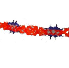 Slinger oranje wit blauw rood 6m