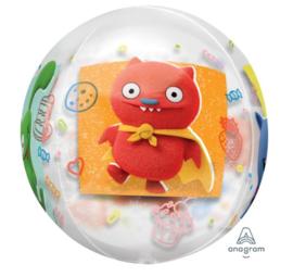 Ugly Dolls ballon doorzichtig 43cm