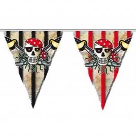 Slingers piraten vlaggenlijn