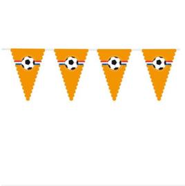 Vlaggenlijn oranje mega 8m