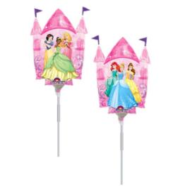 Prinsessen folie ballon kasteel 25cm
