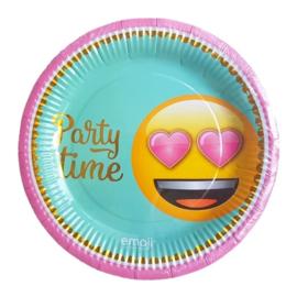 Emoji borden 6 stuks 23cm