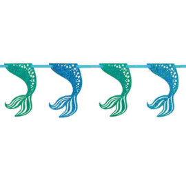 Zeemeermin glittereffect slinger 2,7m