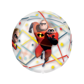 The Incredibles ballon doorzichtig 40x38cm