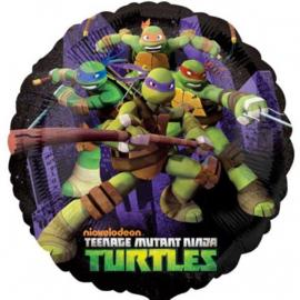 Turtles folie ballon 45cm
