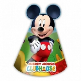 Hoedjes Mickey Mouse Clubhouse 6 stuks