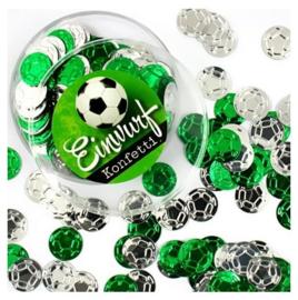 Voetbal confetti 12 gram
