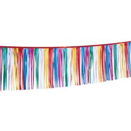 Verjaardag slinger kleuren 30x400cm