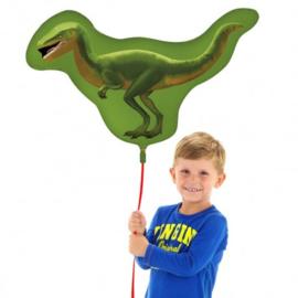 Dino raptor folie ballon 65x81cm