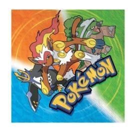 Pokemon servetten 16 stuks 25x25cm