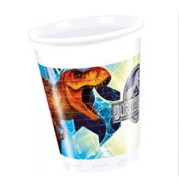 Jurassic World bekertjes 8 stuks 200ml