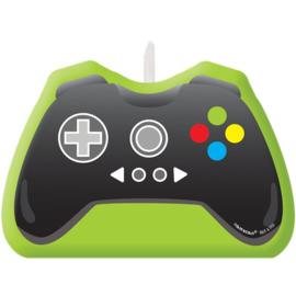 Gamecontroller taartkaars