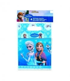Feestzakjes Frozen 6 stuks