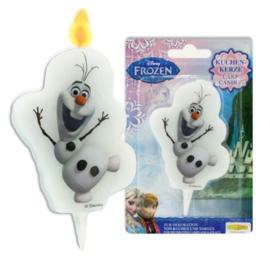 Frozen Olaf taartkaars 5,5x10cm