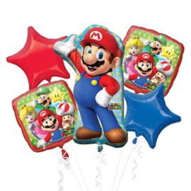 Super Mario folie ballonnenset 5 stuks