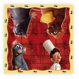 Ratatouille servetten 20 stuks 33x33cm