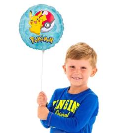 Pokemon folie ballon op stok
