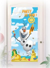 Olaf Frozen deurbanner 1,5m