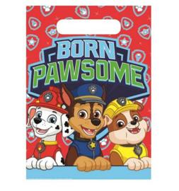 Paw Patrol uitdeelzakjes 10 stuks