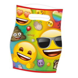 Emoji feestzakjes 8 stuks
