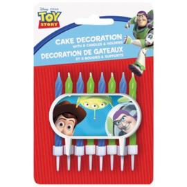 Toy Story kaarsen set 9 stuks