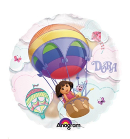 Dora ballon doorzichtig 66cm