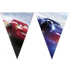 Cars vlaggenlijn slinger plastic 2,3m