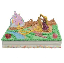 Rapunzel prinses taart versiering set