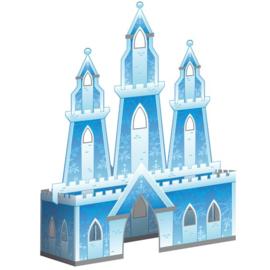 Frozen ijspaleis decoratie 30x21cm