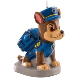 Paw Patrol Chase kaars 6cm