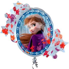 Frozen 2 folie ballon Anna en Elsa 76cm