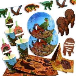 Dinosaurus feestpakket 8 personen