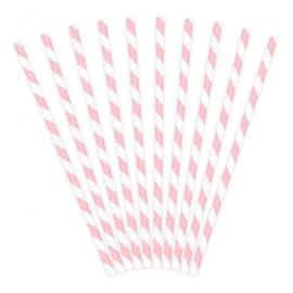 Rietjes roze 8 stuks