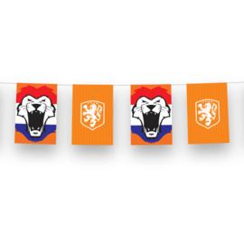 Oranje voetbal KNVB slinger 3m