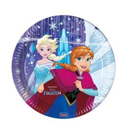 Frozen Snowflakes borden 8 stuks