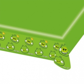 Tafelkleed Angry Birds groen 120 x 180