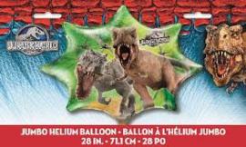 Jurassic World folie ballon 72cm