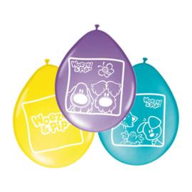 Woezel en Pip ballonnen 8 stuks