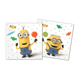 Minions Despicable Me servetten 20 stuks