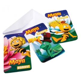 Maya uitnodigingen 6 stuks