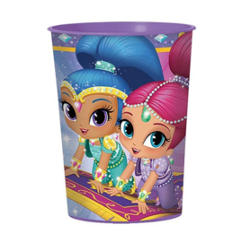 Shimmer and Shine beker kunststof 473ml