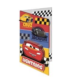Cars verjaardagskaart