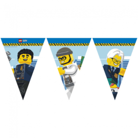 Lego City vlaggenlijn slinger 2,3m