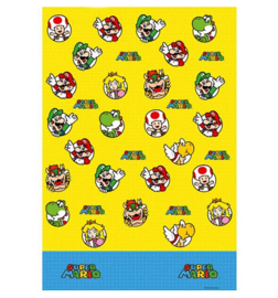 Super Mario tafelkleed plastic 183x138cm