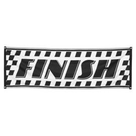 Formule 1 race banner polyester 74x220cm