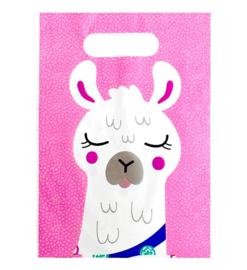 Lama feestzakjes 10 stuks