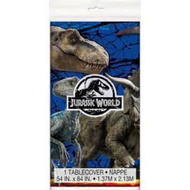 Jurassic World tafelkleed plastic 1,37x2,13m