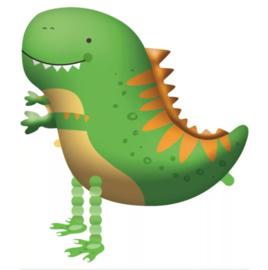 Dino walking ballon 75cm