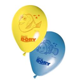 Finding Dory ballonnen 8 stuks