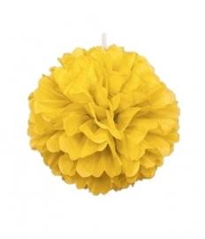 Pompon geel  40 cm